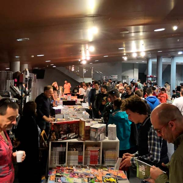 Festicómic El Ejido - Hall de stands
